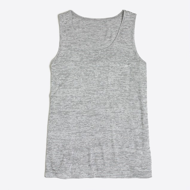 Space-dyed tank top