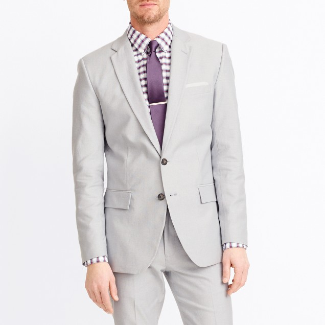 Thompson suit jacket in oxford