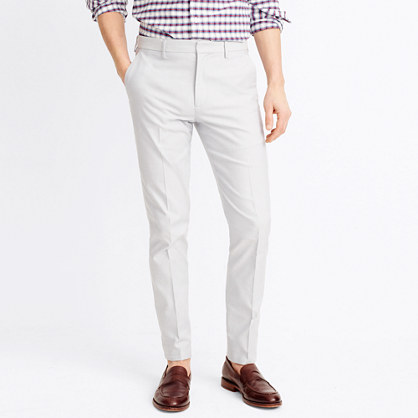 Slim Thompson suit pant in oxford