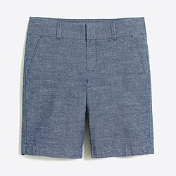 "9"" chambray Frankie short"