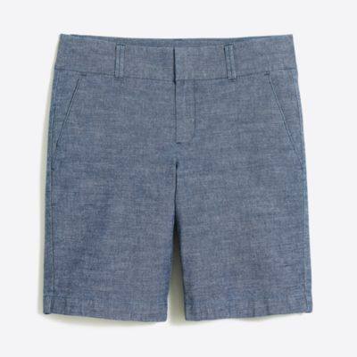 "9"" chambray Frankie short   search"