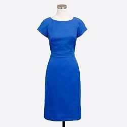 Petite basketweave dress
