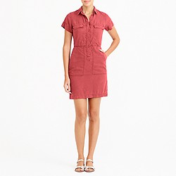 Drapey oxford dress