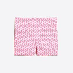 Girls' printed handstand short