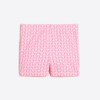 Girls' printed handstand short