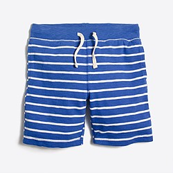 Striped pull-on short