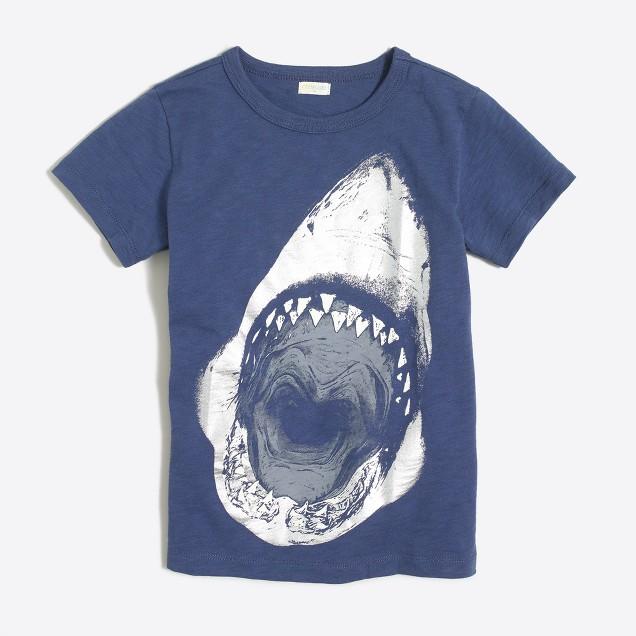 Boys' shark storybook T-shirt