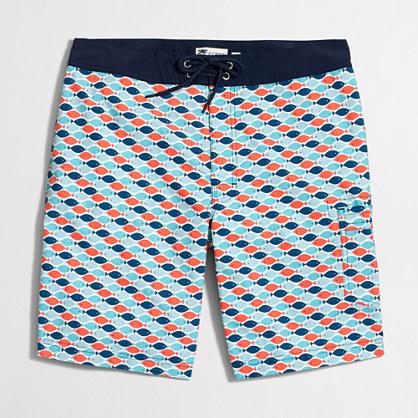 """9"""" printed swim short"""