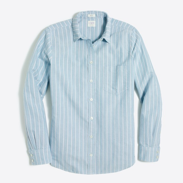 Striped oxford shirt in boy fit