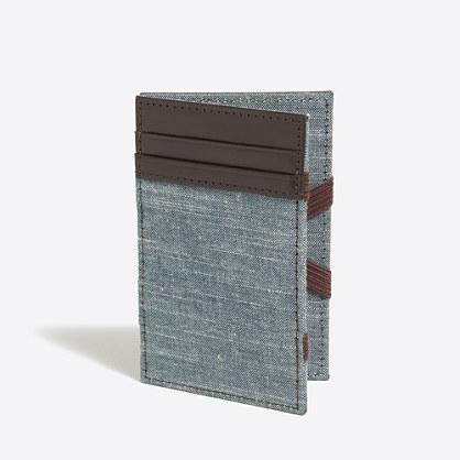 Fabric magic wallet