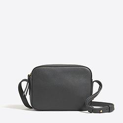 Mini crossbody bag in leather