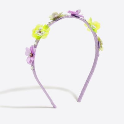 Girls' flower and crystal headband factorygirls jewelry & accessories c
