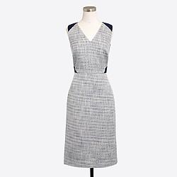 Lace tweed dress