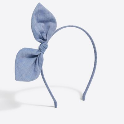 Girls' bow headband