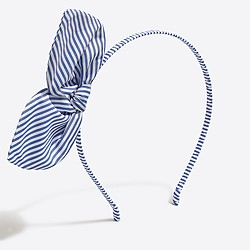Girls' bow headband