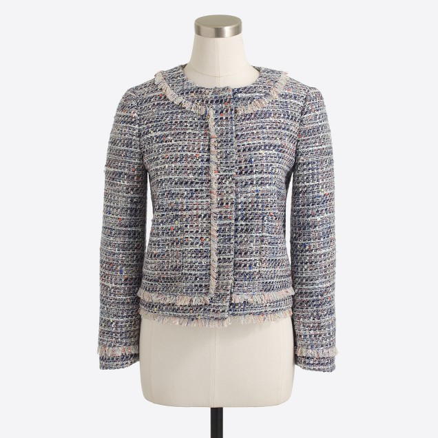 Tweed lady jacket