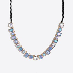 Girls' multi stone necklace