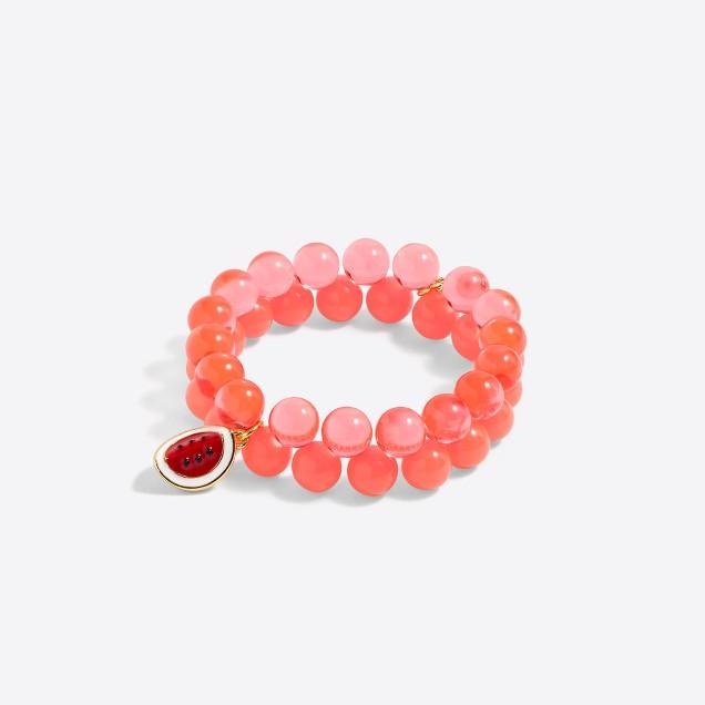 Girls' fruit bracelet