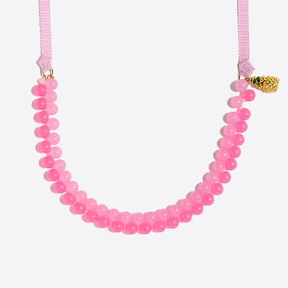 Girls' fruit necklace
