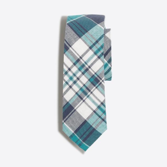 Boys' madras tie