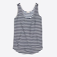 Striped classic tank top