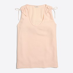 Shoulder-tie cami top