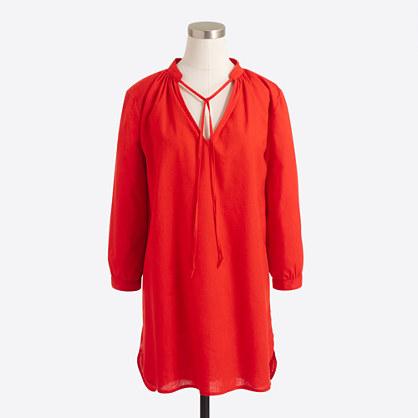 Linen-cotton tunic