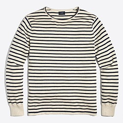 Cotton striped rollneck™ sweater