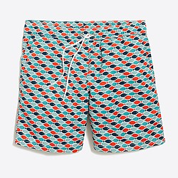 "6"" printed swim short"
