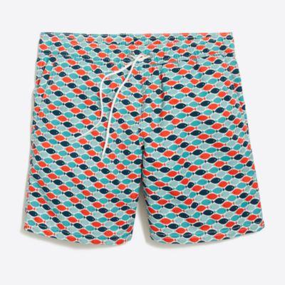 """6"""" printed swim short"""