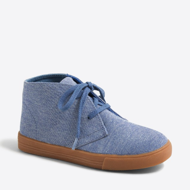 Kids' canvas calvert sneakers