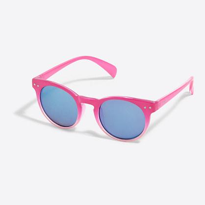 Girls' round sunglasses