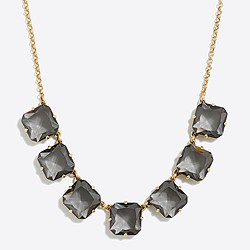 Mini crystal cube necklace