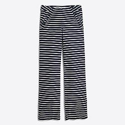 Striped sailor pant