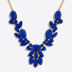 Opaque gemstone necklace
