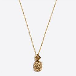 Pineapple pendant necklace