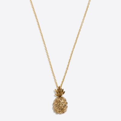 Pineapple pendant necklace factorywomen new arrivals c