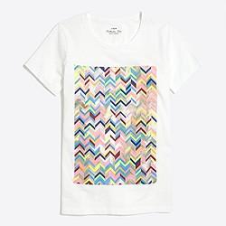 Chevron stripe collector T-shirt