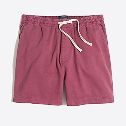 "5"" sunwashed garment-dyed Varick short"