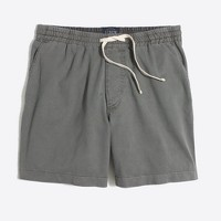 "5"" sunwashed garment-dyed Varick short"