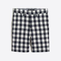 Boys' Thompson suit short in gingham