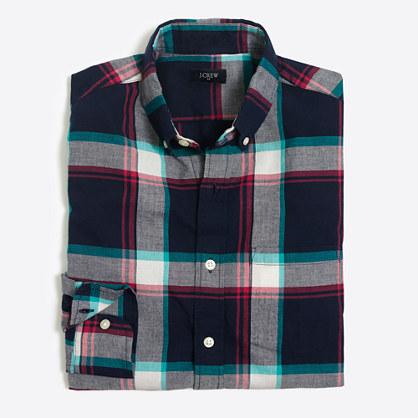 Slim madras shirt