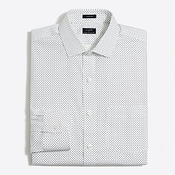 Patterned flex wrinkle-free Voyager dress shirt