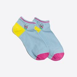 Owl ankle socks