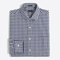 Gingham flex wrinkle-free Voyager dress shirt