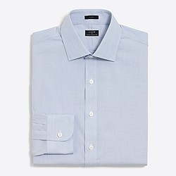 Classic-fit flex wrinkle-free Voyager dress shirt
