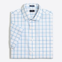 Short-sleeve flex wrinkle-free Voyager dress shirt
