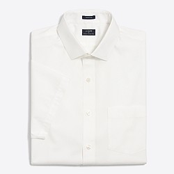 Short-sleeve flex wrinkle-free Voyager dress shirt