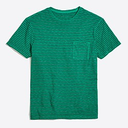 Pacific striped sunwashed garment-dyed T-shirt