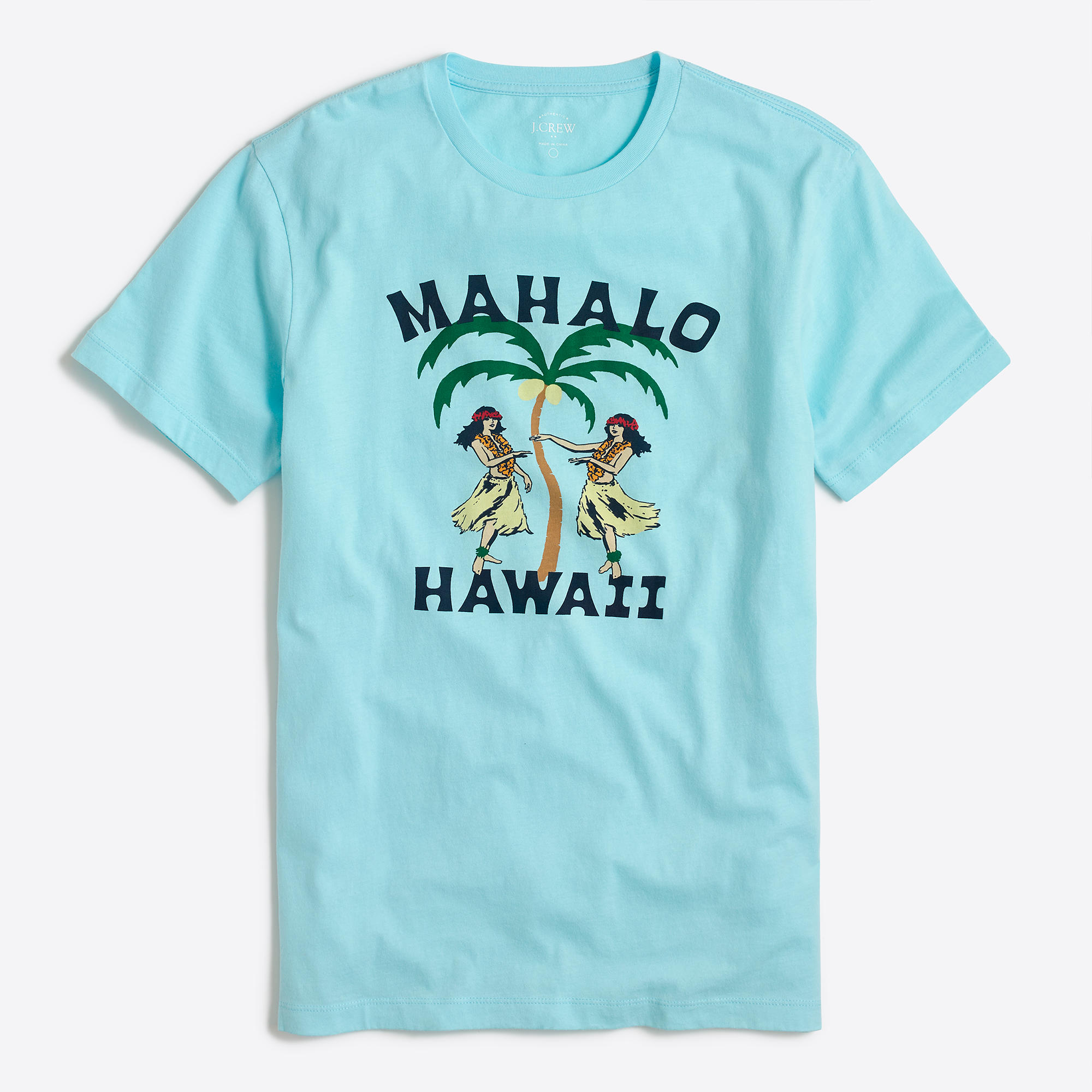 Hawaiian girls t shirt factorymen stripes graphics for Hawaiian graphic t shirts
